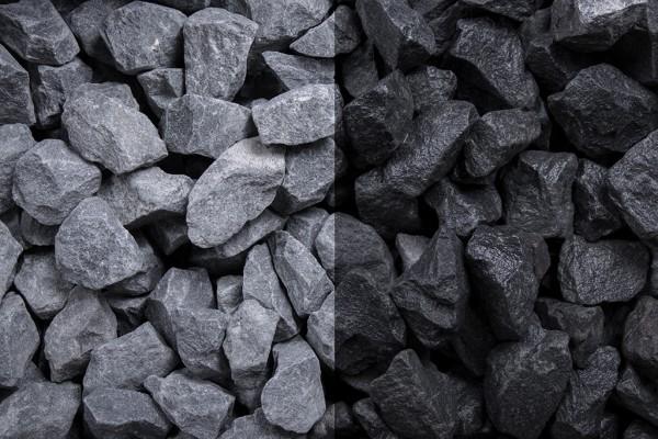 Basaltsplitt 16-22 mm 20 kg Sack