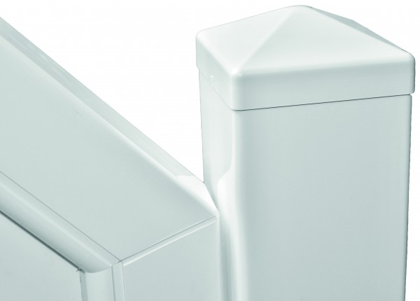 TRENDLINE-KS-Pfosten weiß 10 x 10 x 250 cm, inkl. Stahlkern