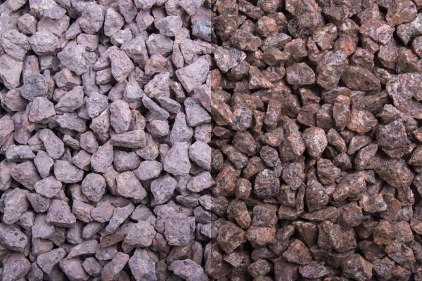 Splitt Roter Porphyr 8-11 mm, 20 kg Sack