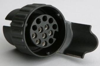 Unitec Mini Adapter 7- auf 13-polig / 12 V