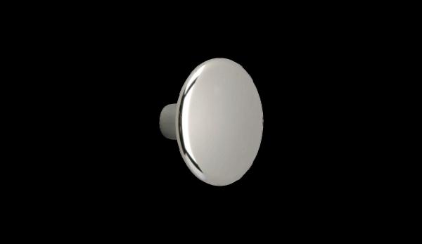 Möbelknopf Ø 30 mm, verchromt, poliert