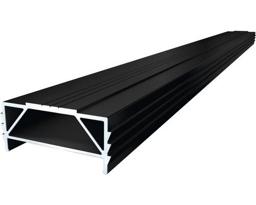 Unterkonstruktion TWIXT-Isostep Aluminium 4000x64x30 mm