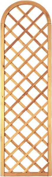 Barock-Ranki rund grün 60 x 210/180 cm Rahmen 45/45 mm Maschenweite ca. 10 x 10 cm