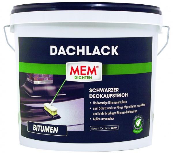 MEM Bitumen Dachlack 10 l