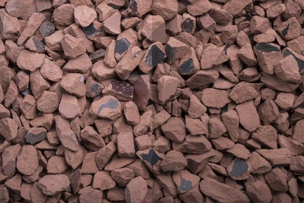 Ziegel Splitt 8-16 mm, 20 kg Sack
