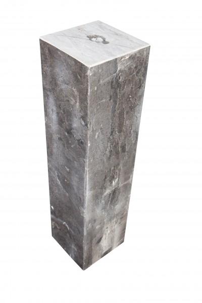 Säulen 25x25x100, cm, gebohrt, black