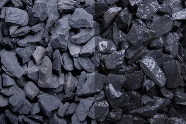 Canadian Slate schwarz 10-20 mm, 20 kg Sack