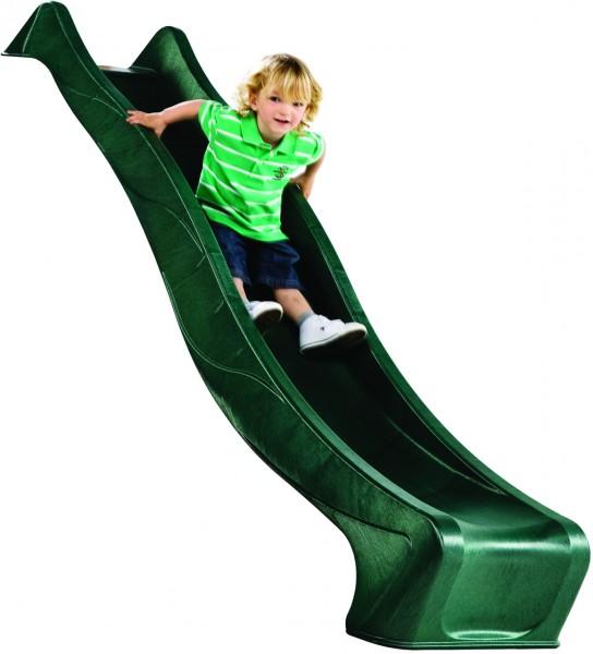 Wellenrutsche PE, grün ca. 290 x 46 cm für Podesthöhe 150 cm