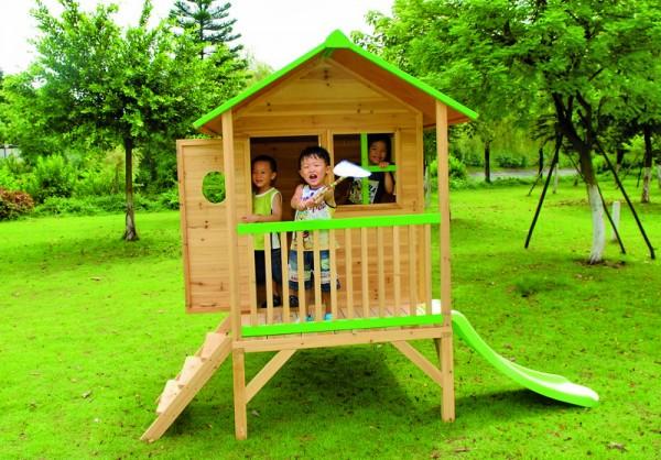 Unterbau zur Kinderspielhaus HANNA -ohne Rutsche- 200 x 186 x 225 cm