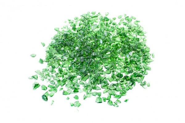Glassplitt Green 5-10 mm BigBag