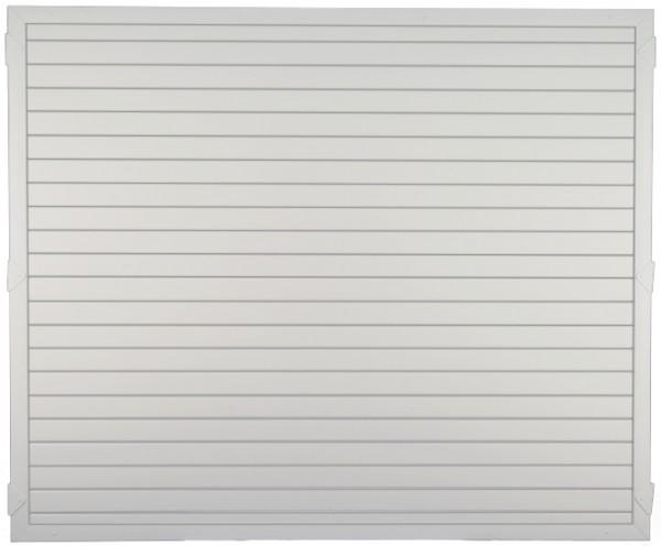 LIGHTLINE KS-Zaunelement 180 x 150 cm Füllung weiß / Rahmen weiß