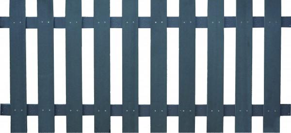 HAILAR-Serie anthrazit 180 x 80 cm, WPC-Lattenzaun Querriegel ALU anthrazit beschichtet