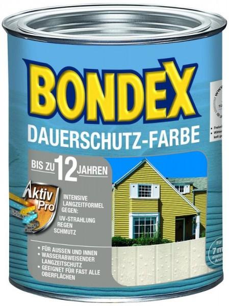 Bondex Dauerschutz-Farbe 0,75 L Morgenweiß
