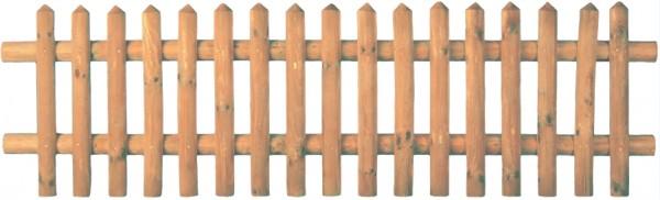 Senkrechtzaun braun 250 x 60 cm Latten 55 mm