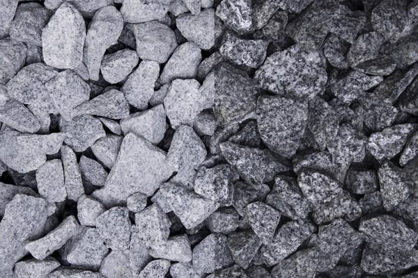 Splitt Granit grau 16-22 mm, 20 kg Sack