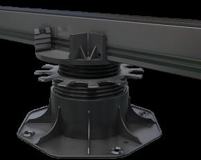Terrassenlager- Clip, Karle und Rubner, Terracon, 65 - 155 mm, 7246